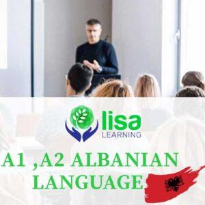 LISA Learning - Albanian Language - A1 - A2