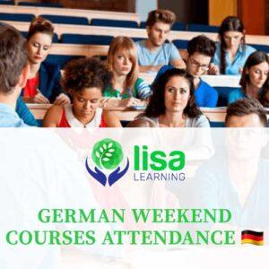 LISA Learning - German Weekend Courses Attendance