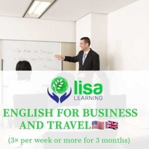 LISA Learning English For Business and Travel 3x Week