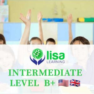 LISA Learning English Intermediate Level B plus
