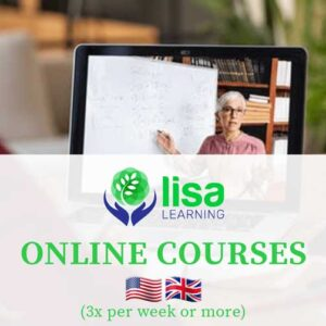 LISA Learning - English Online Courses 3x Week