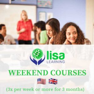LISA Learning Weekend Courses 3 months