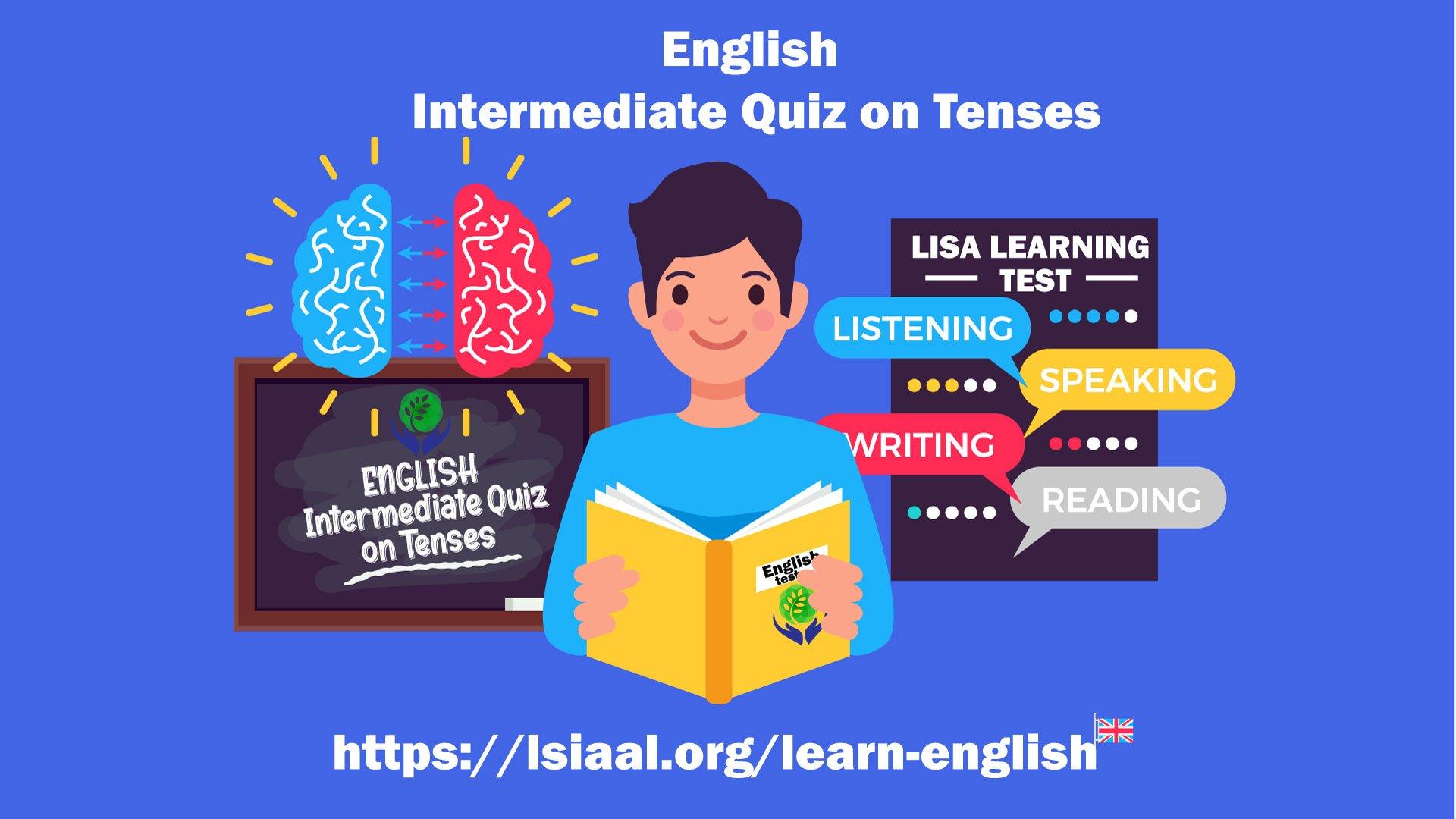 English Intermediate Quiz on Tenses