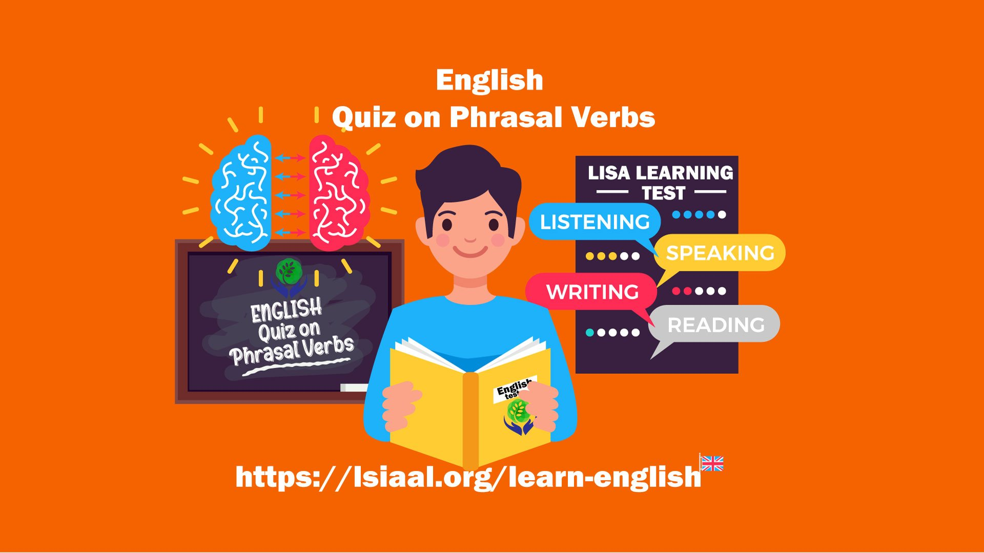 English Quiz on phrasal verbs